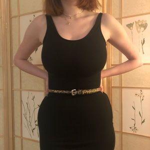Accessories - Thin cheetah print belt